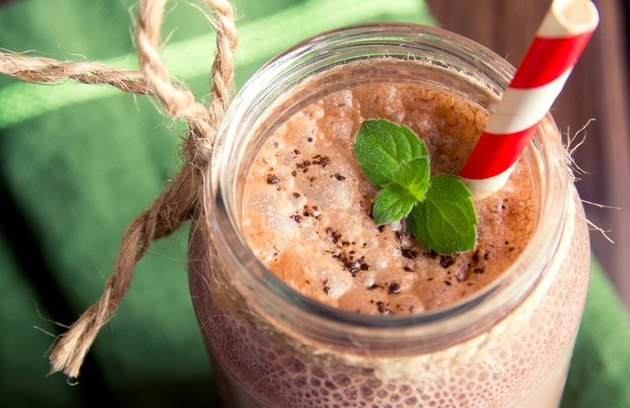 High-Protein Chocolate Breakfast Smoothie Keto Friendly Flours