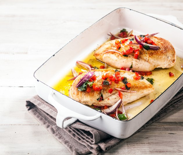 marinated chicken breast baked in oven