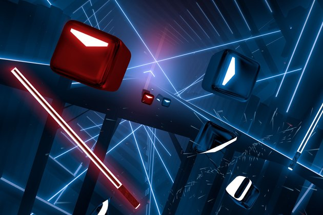 Beat Saber Fitness Game