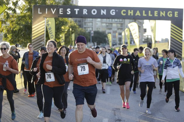 LIVESTRONG Challenge Fun Run charity race