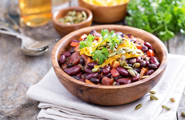 Spicy Bean Chili Meatless Recipes plant-based recipes