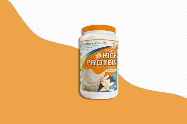 Growing Naturals Organic Rice Protein Powder