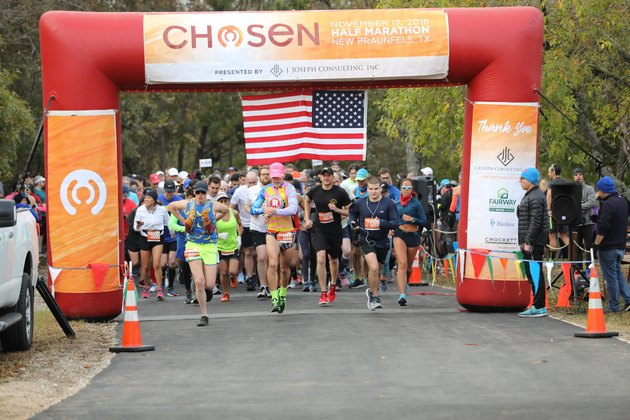 Chosen Half Marathon charity race