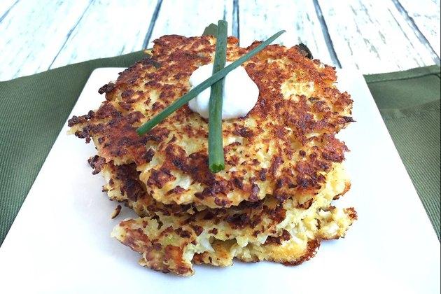 cauliflower latkes