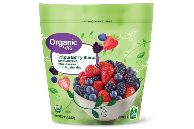 Organic Great Value Triple Berry Blend