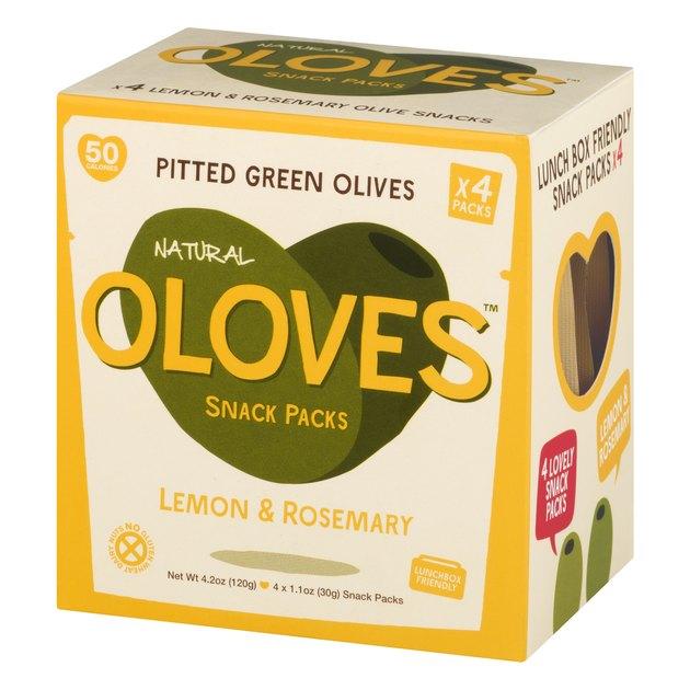 Natural Oloves Snack Pack