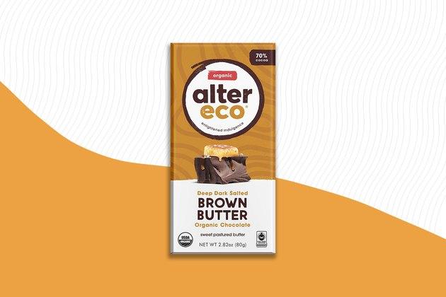 Alter Eco Dark Salted Brown Butter Gluten-Free Dark Chocolate Bar