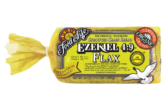 Ezekiel 4:9 Flax Sprouted Whole Grain Bread