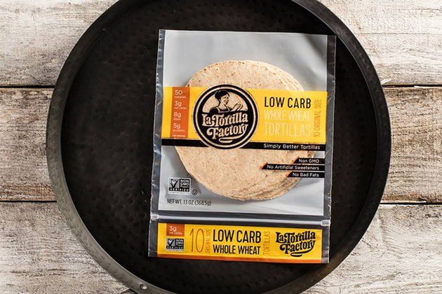 La Tortilla Factory Low Carb Whole Wheat Original Size