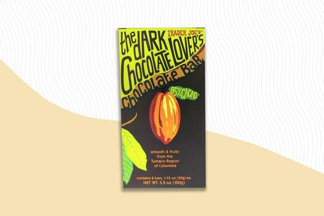 Trader Joe's The Dark Chocolate Lover's Chocolate Bar