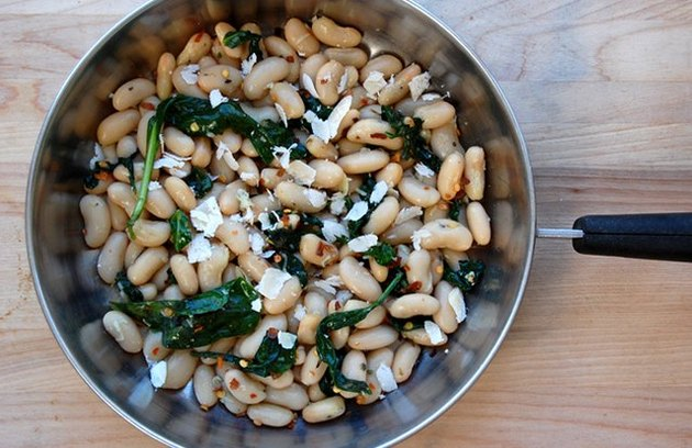 Italian White Beans and Spinach Canned Bean Recipe