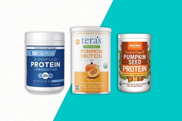 Types of pumpkin protein powder