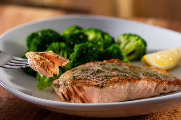 Herb-Grilled Salmon at Olive Garden.