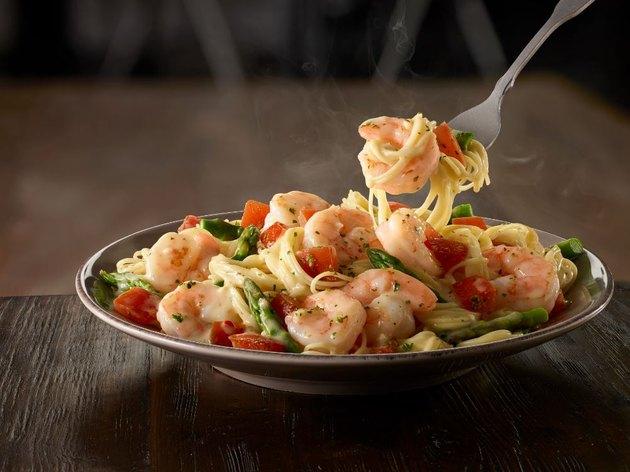 Shrimp Scampi at Olive Garden.