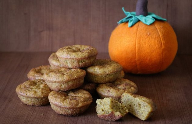 Pumpkin Spice Muffin Low-Sugar Breakfast Muffins With More Protein Than an Egg