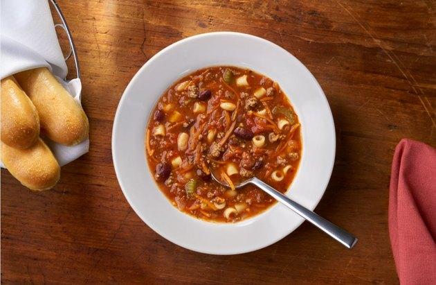 Pasta a Fagioli at Olive Garden.