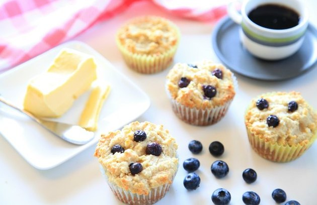 Keto Blueberry Muffins Low-Sugar Breakfast Muffins With More Protein Than an Egg