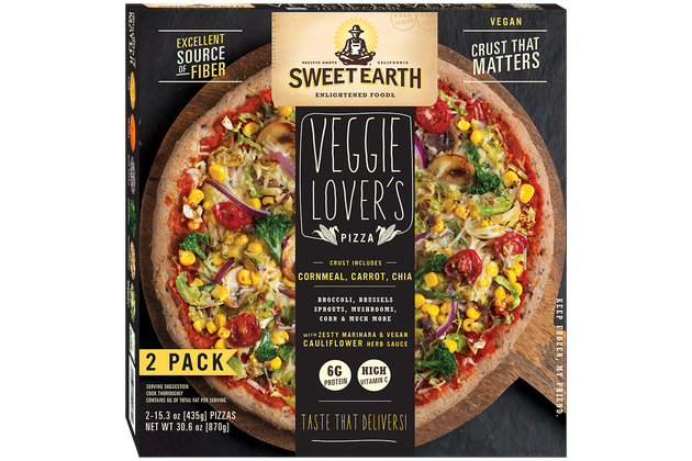 Sweet Earth Foods Veggie Lover's Pizza