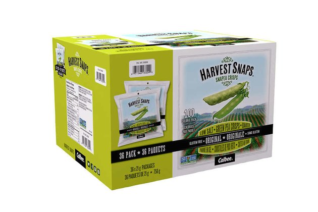 Harvest Snaps Green Pea Snack Crisps