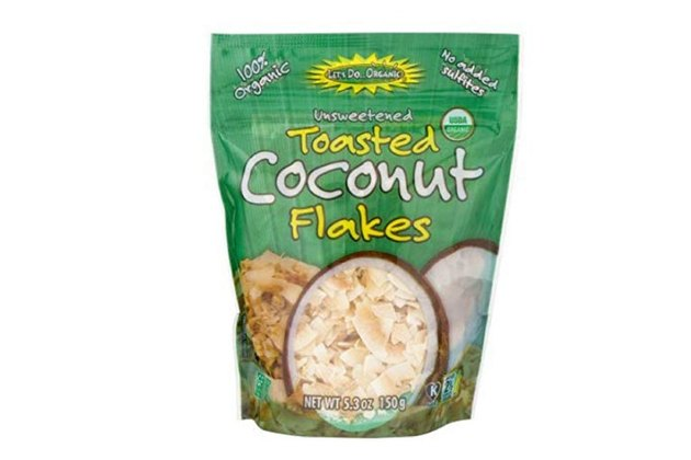 Let's Do Organic Toasted Coconut Flakes, Unsweetened