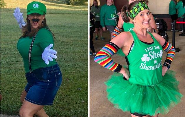 Maranda Boiter avant et après la perte de poids post-partum