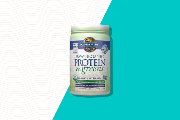 garden of life raw organic protein and greens green powder