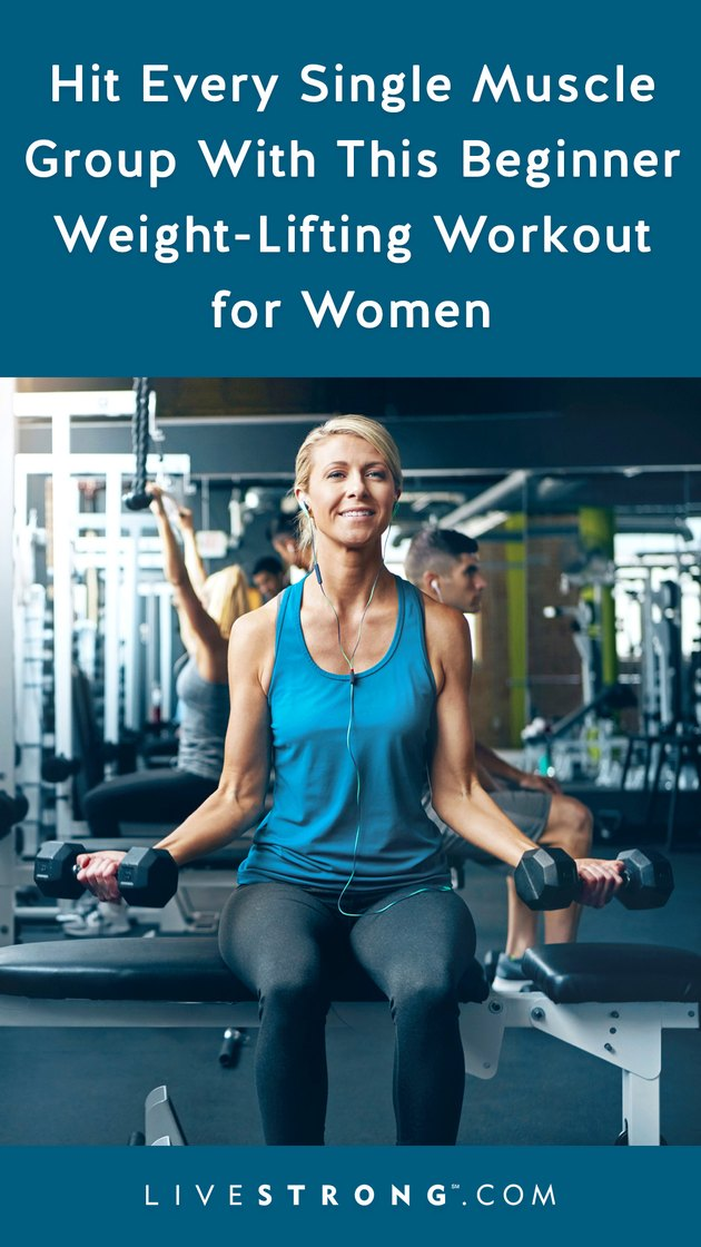 Beginner Weight-Lifting Workout for Women