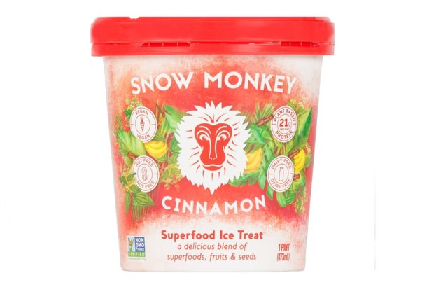 Snow Monkey Cinnamon Superfood Ice Treat