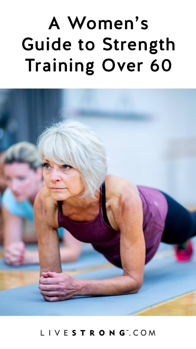 A Women's Guide to Strength Training Over 60