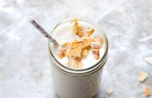 Toasted Coconut Smoothie breakfast recipe
