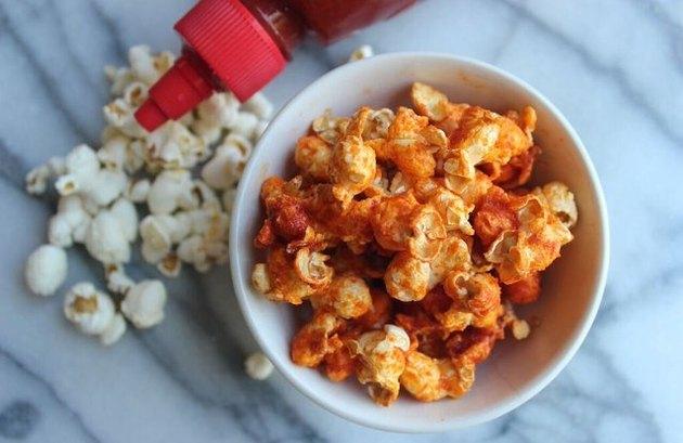 Sriracha Popcorn Simple Popcorn Recipe