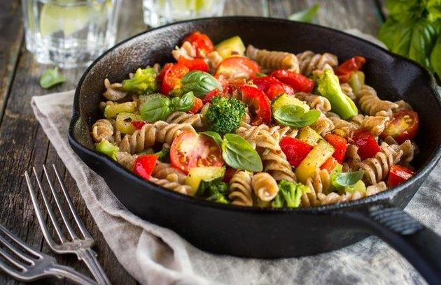 Veggie-Loaded Pasta 5-Ingredient Pasta Lunch