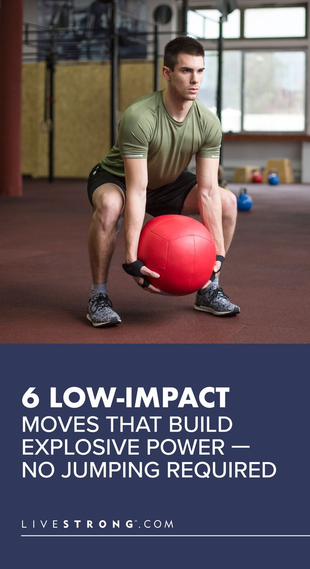6 Low-Impact Moves That Build Explosive Power