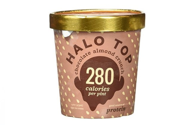 Halo Top Chocolate Almond Crunch