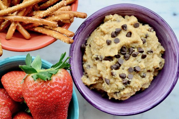 Chocolate-Chip Cookie Dough Dessert Hummus