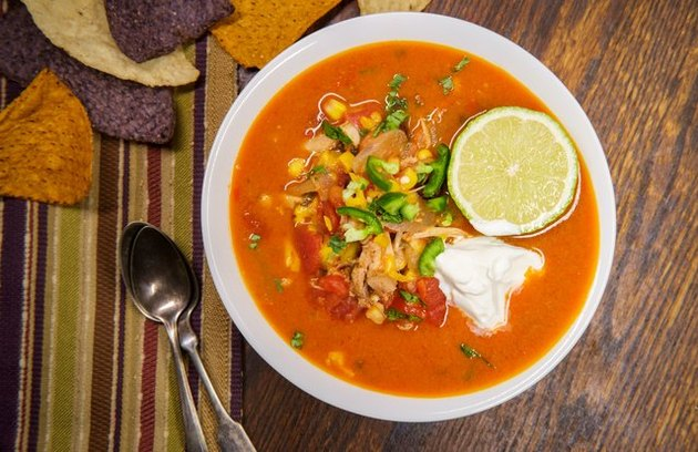 Vegan Mexican Tortilla Soup recipe
