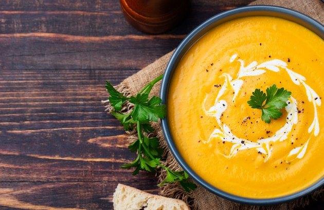 Roasted Butternut Blendie Soup