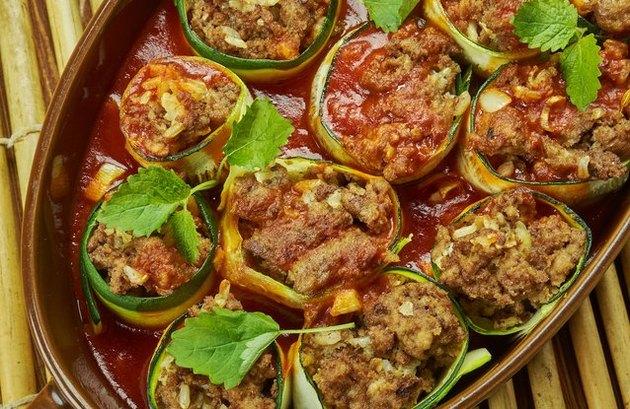 Keto Chicken Enchiladas Tomato Sauce Recipe