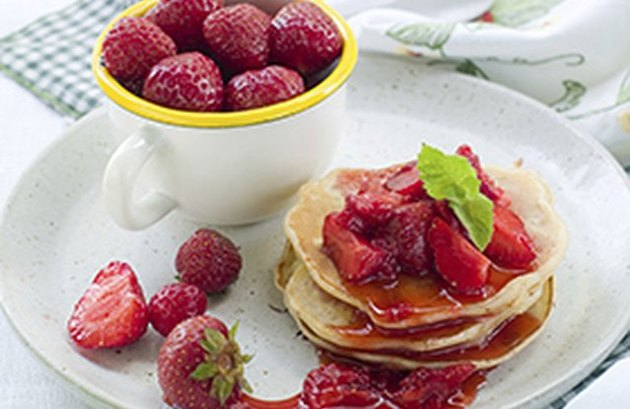 Strawberry Protein Pancakes Protein Pancake Recipe