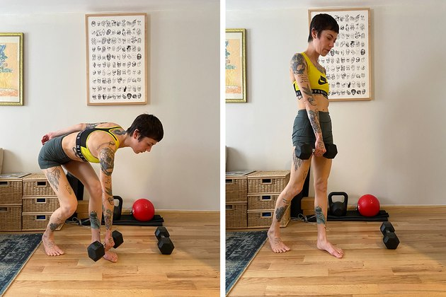Contralateral Deadlift