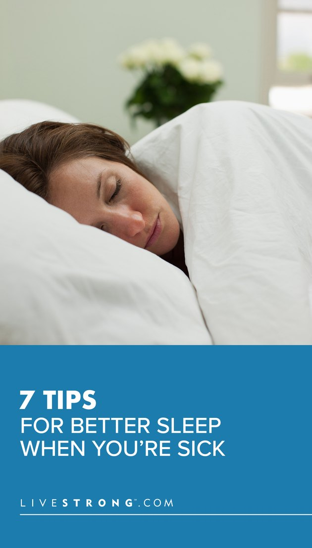 7 Tips for Better Sleep When You're Sick