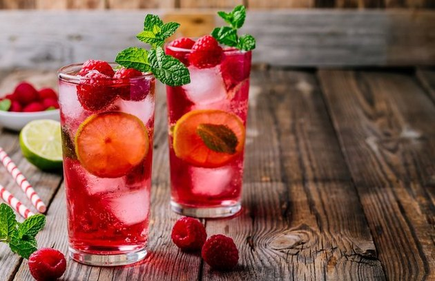 Raspberry Summer Cocktail recipe