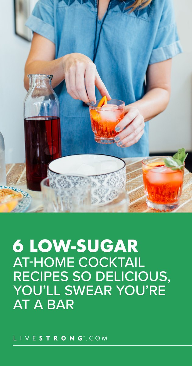 Low-Sugar At-Home Cocktail Recipes