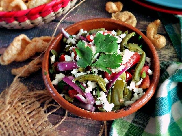 Nopales Keto Salad