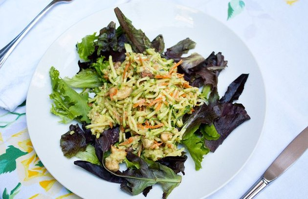 Nutty Zucchini Grain Salad Gluten-Free Recipe