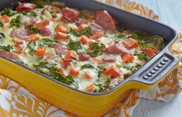 Sweet Potato Sausage Breakfast Casserole recipe