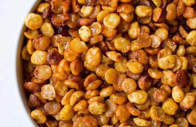 Crunchy Split Peas Recipe