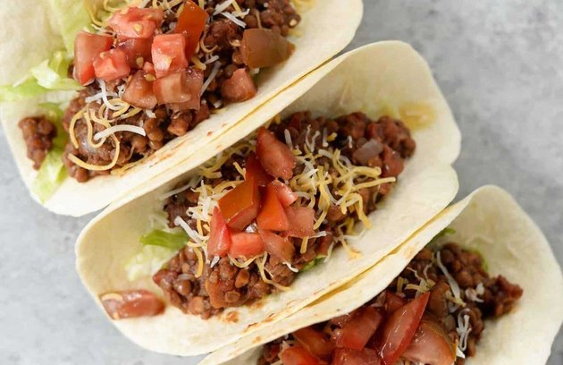 Walnut Lentil Tacos recipe