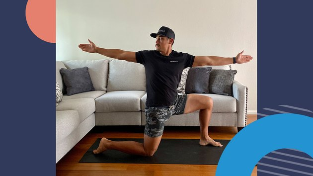 Move 3: Bow and Arrow Stretch