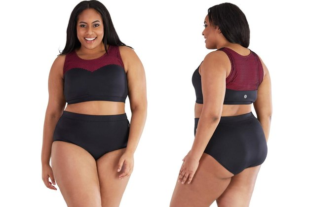 Juno Activewear Plus Size two piece